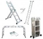 Sử dụng thang nhôm – Những điều cần tránh khi dùng thang xếp