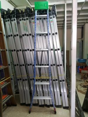 Thang 2.5m sơn tĩnh điện xanh